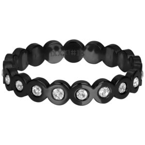 Ixxxi - Big Circle Stone Black R05805