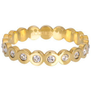 Ixxxi - Big Circle Stone Gold R05805