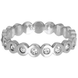 Ixxxi - Big Circle Stone Silver R05805