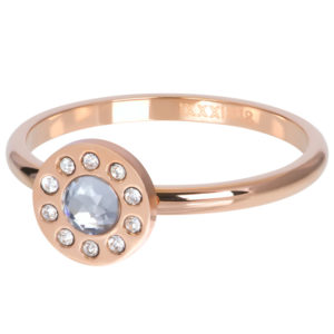 Ixxxi - Diamond Circle Rosegold R05803