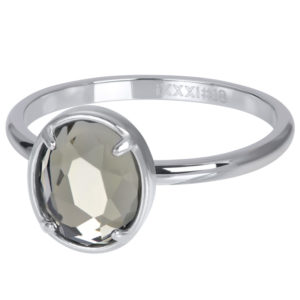 Ixxxi - Glam Oval Crystal R05702
