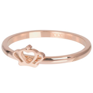 Ixxxi - Glamour Crown Rosegold R05808