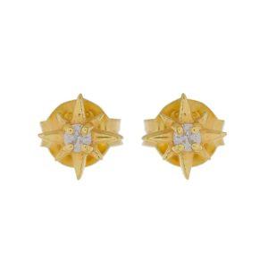 Muja Juma - Ear Studs Zirkonia 1411GB1