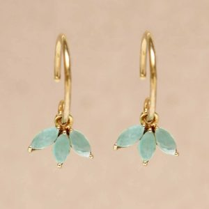 Muja Juma - Earrings Amazonite 1498GB5