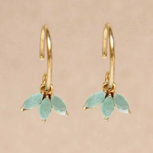 Muja Juma - Earrings Amazonite 1498GB5