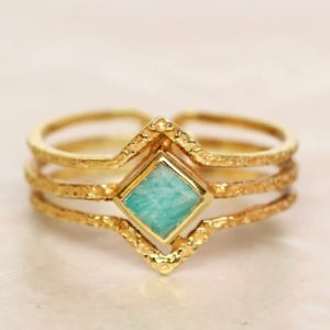 Muja Juma - Ring Amazonite 4168GB5