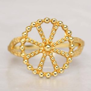 Muja Juma - Ring Golden Wheel 4169GB