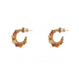 Satellite Paris - Iancura Earrings Orange