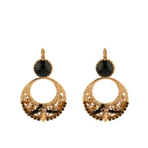 Satellite Paris - Taormina Earrings Black TAO10DON