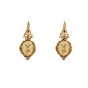 Satellite Paris - Taormina Earrings Cream TAO05DOB