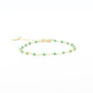 Une a Une - Bracelet Inde Emerald BRIEY 2