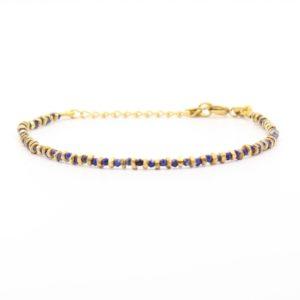 Une a Une - Bracelet Jaipur Lapis BRSJL 2