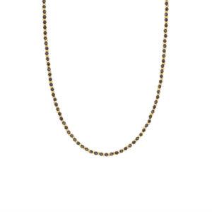 Une a Une - Collier Jaipur Onyx CSJB