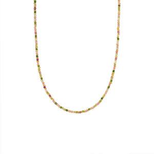 Une a Une - Collier Jaipur Tourmaline CSJMT