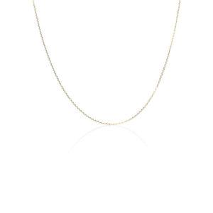 Yilz & Gems - 14kt Golden Necklace 39cm