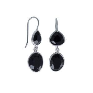 Coby van den Bor - Earrings Black Spinel 813
