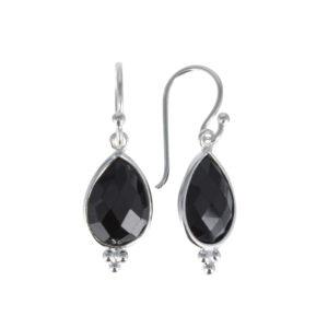Coby van den Bor - Earrings Black Spinel 885
