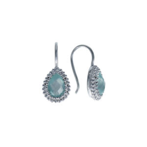 Coby van den Bor - Earrings Chalcedony 930