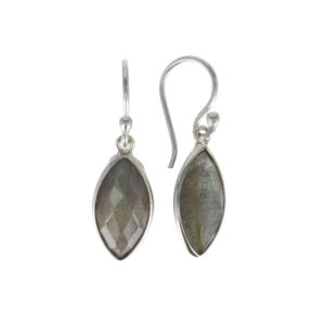 Coby van den Bor - Earrings Labradorite 895