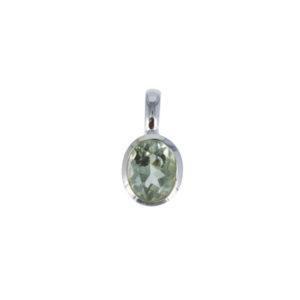 Coby van den Bor - Necklace Pendant Green Amethyst 781A