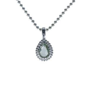 Coby van den Bor - Necklace Pendant Green Amethyst 930