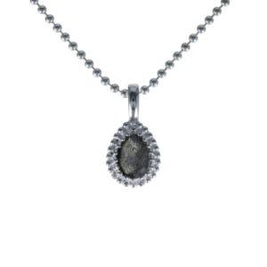 Coby van den Bor - Necklace Pendant Labradorite 930