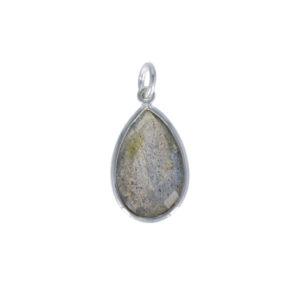 Coby van den Bor - Necklace Pendant Labradorite PG09