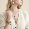 Gas Bijoux - Bracelet Penna Black model