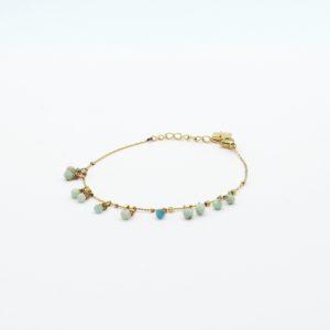 Zag Bijoux - Bracelet Amazonite
