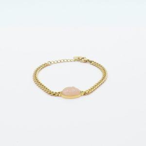 Zag Bijoux - Bracelet Big Pink Stone