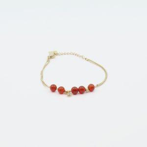 Zag Bijoux - Bracelet Cornelian