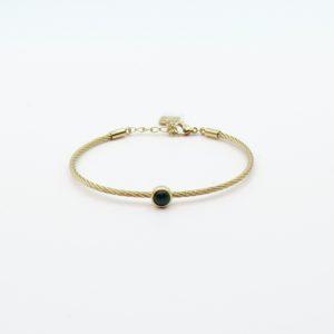 ag Bijoux - Bracelet Malachite