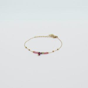 Zag Bijoux - Bracelet Pink Stones 2