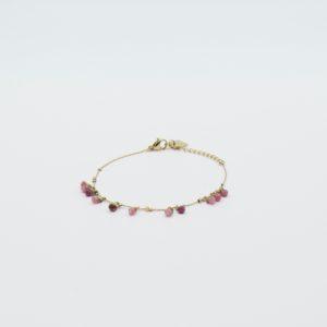 Zag Bijoux - Bracelet Pink Stones 3