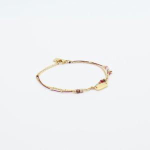 Zag Bijoux - Bracelet Pink Stones