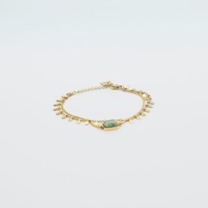 Zag Bijoux - Bracelet Rectangle Turquoise