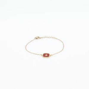 Zag Bijoux - Bracelet Red Square