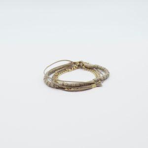 Zag Bijoux - Bracelet Taupe
