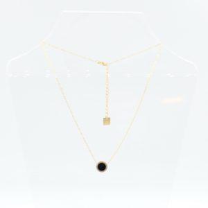 Zag Bijoux - Necklace Black Circle