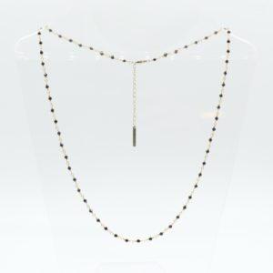 Zag Bijoux - Necklace Black Stones