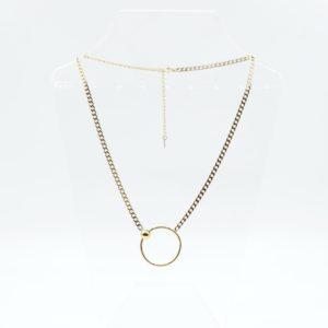 Zag Bijoux - Necklace Chain Circle