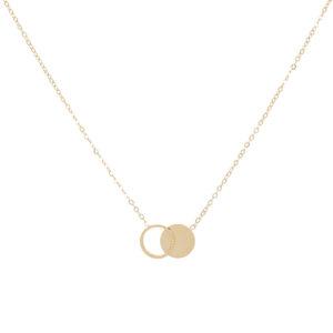 Zag Bijoux - Necklace Double Circles