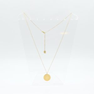 Zag Bijoux - Necklace Long Coin