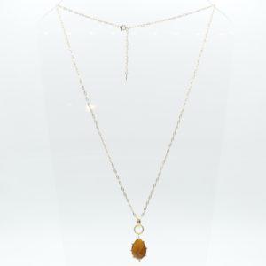 Zag Bijoux - Necklace Long Tigereye
