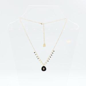 Zag Bijoux - Necklace Onyx
