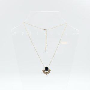 Zag Bijoux - Necklace Onyx Flower