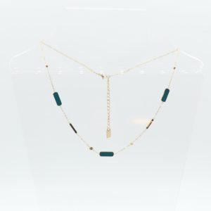 Zag Bijoux - Necklace Petrol