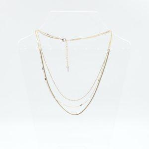 Zag Bijoux - Necklace Triple