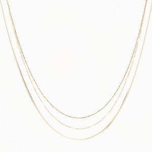 Zag Bijoux - Necklace Triple cu