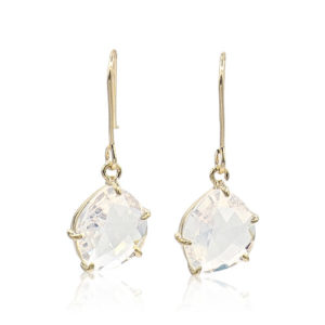 Callysta's Findings - Earrings Milky White